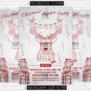hipster_christmas_party-premium-flyer-template-1