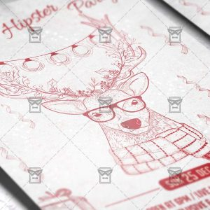 hipster_christmas_party-premium-flyer-template-2