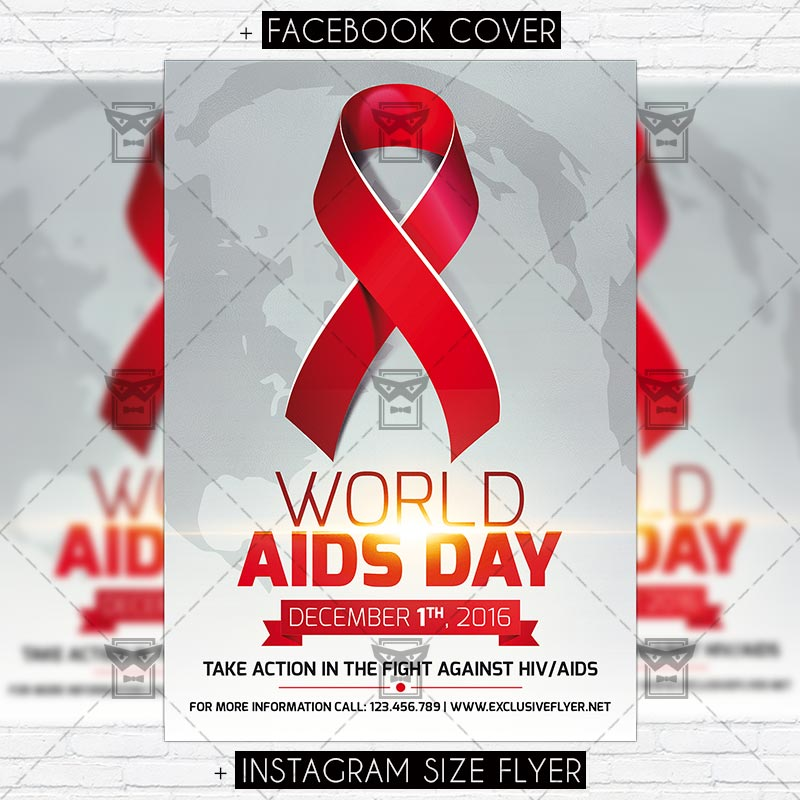 world_aids_day_vol2 premium flyer template