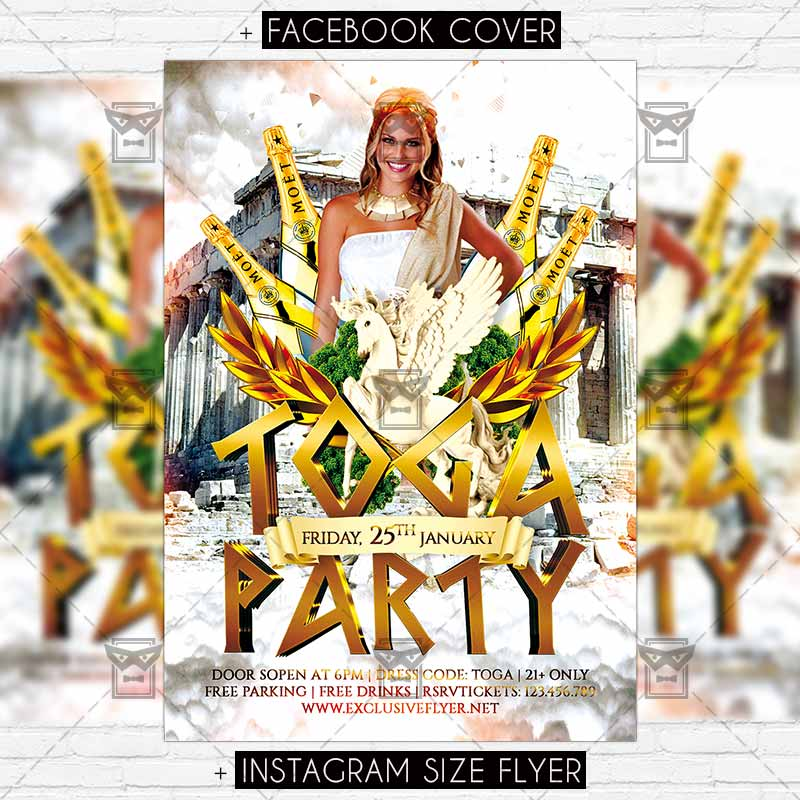toga_party premium flyer template 1