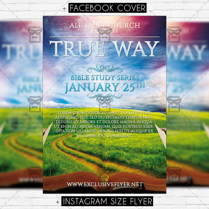true_way premium flyer template 1
