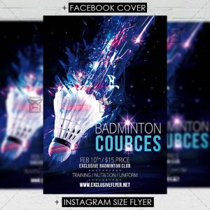badminton_cources-premium-flyer-template-1