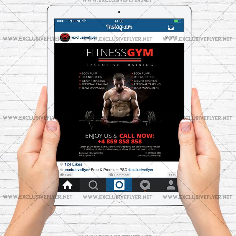 Personal Training Flyer Template Onweoinnovate
