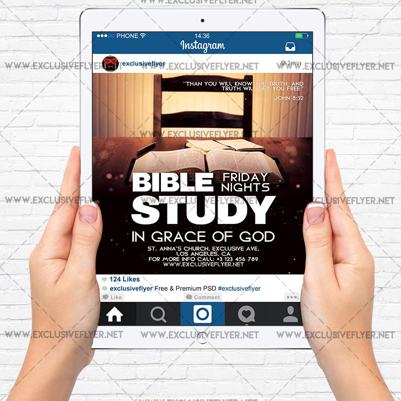 Bible Study Flyer Templates Free - Template : Resume ...