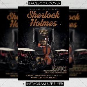 sherlock_holmes_party-premium-flyer-template-1