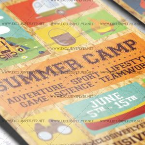 summer-camp-premium-a5-flyer-template