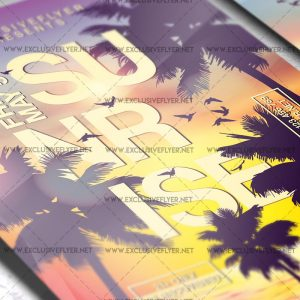 summer-sunrise-premium-a5-flyer-template