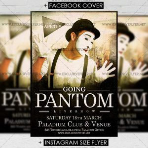 Pantom - Premium A5 Flyer Template