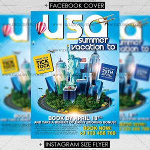 vacation_to_usa-premium-flyer-template-1