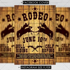 rodeo-premium-flyer-template-1