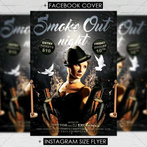 smoke_out_night-premium-flyer-template-1