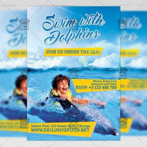 swim_with_dolphin-premium-flyer-template-1