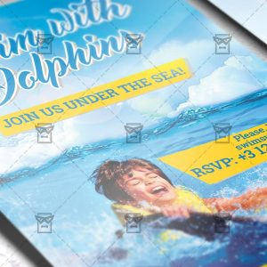 swim_with_dolphin-premium-flyer-template-2