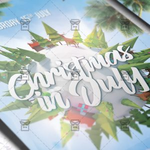 christmas_in_july-premium-flyer-template-2