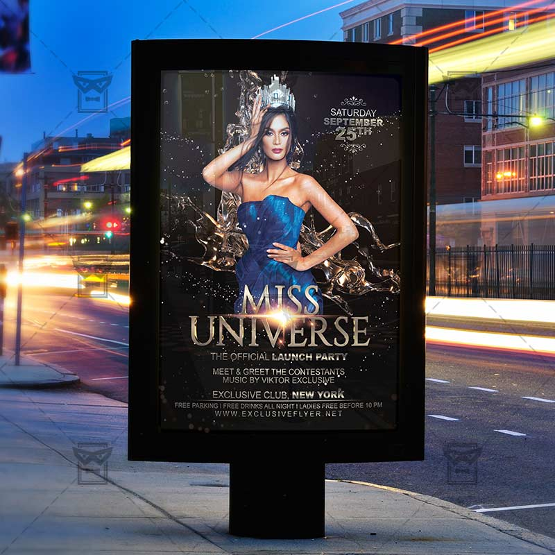Miss Universe Club A Flyer Template ExclsiveFlyer Free And - Free meet and greet flyer template