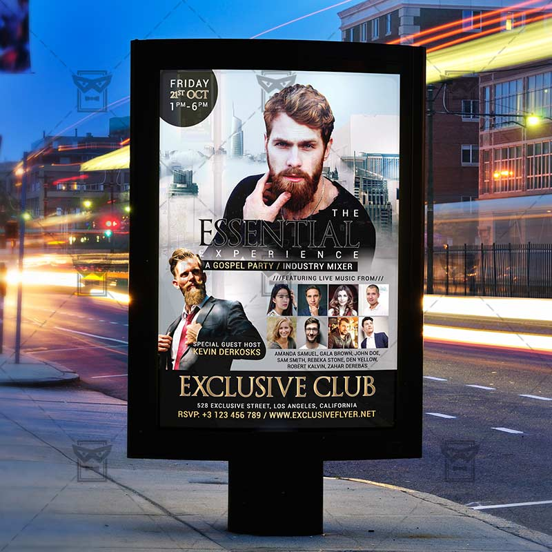 Gospel Music Church A5 Flyer Template Exclsiveflyer Free And