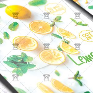 Lemonade Party - Food A5 Flyer Template