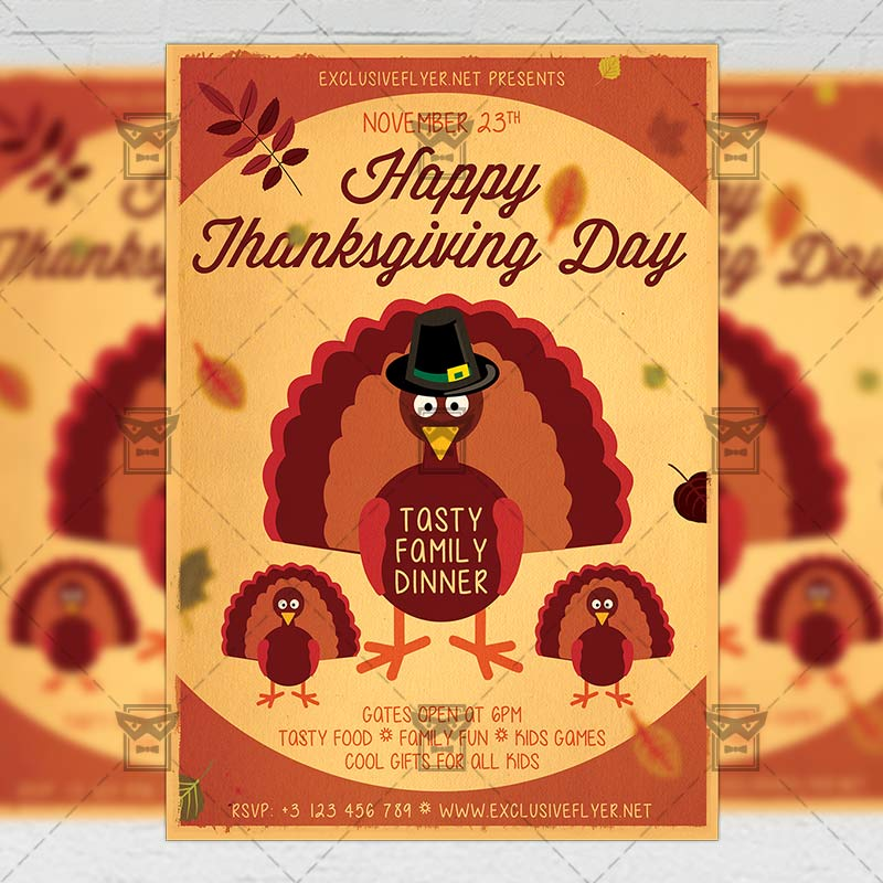 Thanksgiving Flyer Template Free Download Antaexpocoaching