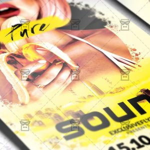 Pure Sound - Club A5 Flyer Template
