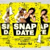 Snap Date - Club A5 Flyer Template