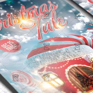 Download Christmas Tale PSD Flyer Template Now