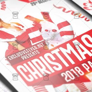 Download Christmas 2018 PSD Flyer Template Now