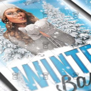 Download Winter Bash PSD Flyer Template Now