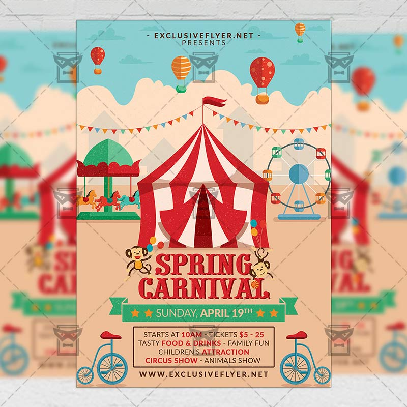 carnival templates