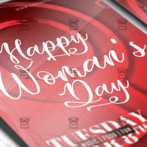 Download International Woman's Day PSD Flyer Template Now