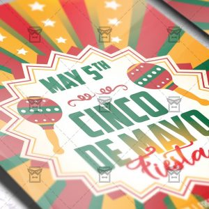 Download Cinco de Mayo Fiesta PSD Flyer Template Now