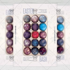 Download Easter Bash PSD Flyer Template Now