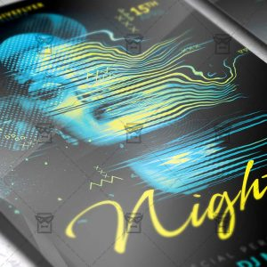 Download Specila Music Nights PSD Flyer Template Now