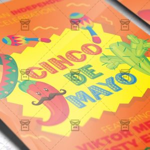 Download 5 De Mayo Celebration PSD Flyer Template Now