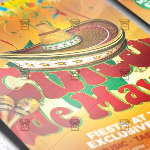 Download Cinco De Mayo Flyer PSD Flyer Template Now