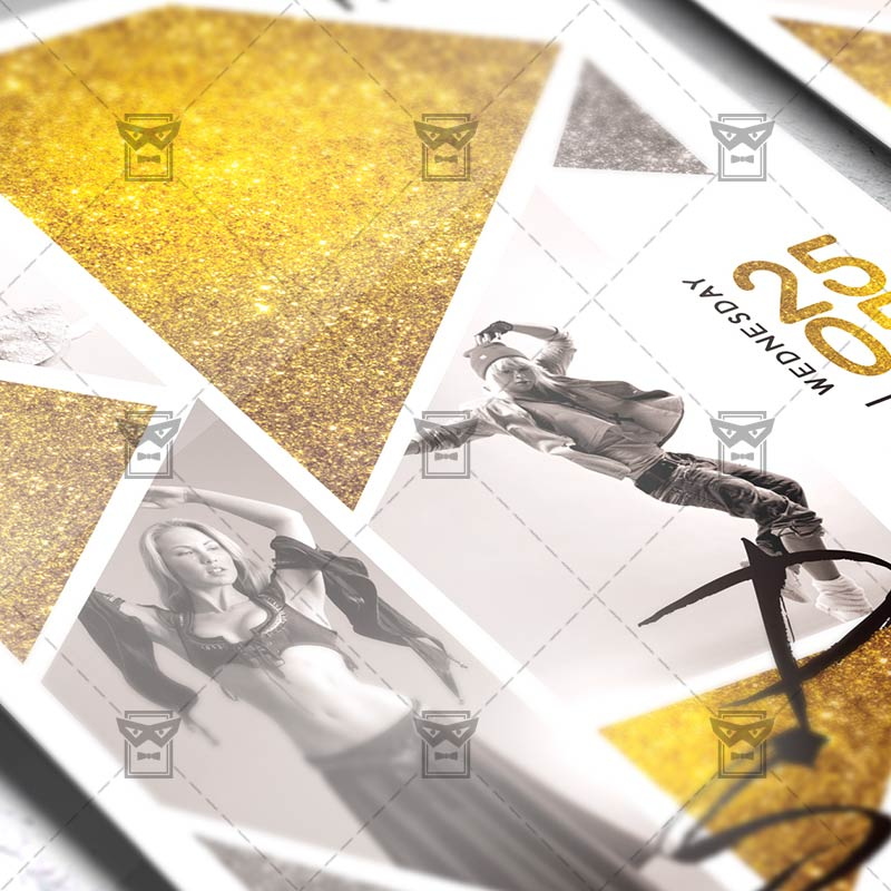 Dance School Community A5 Flyer Template Exclsiveflyer Free