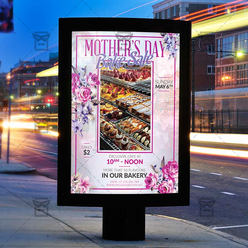 Mothers Day Storewide Sale Template: Seasonal A5 Flyer Template