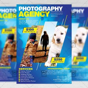 Download Photography PSD Flyer Template Now