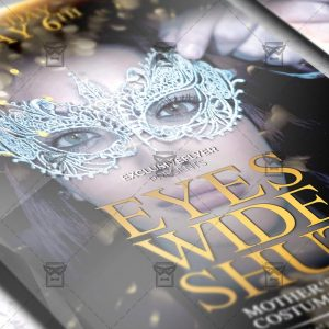 Download Eyes Wide Shut PSD Flyer Template Now