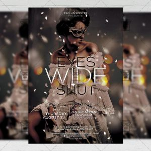 Download Eyes Wide Shut Flyer PSD Flyer Template Now