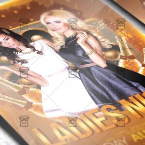 Download Ladies Night Flyer PSD Flyer Template Now