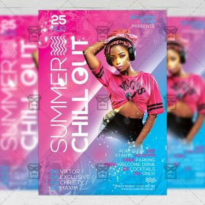 Download Summer Chill Out PSD Flyer Template Now