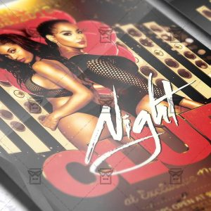 Download Club Night PSD Flyer Template Now