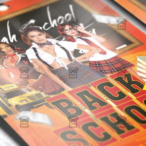 Download Back to School PSD Flyer Template Now
