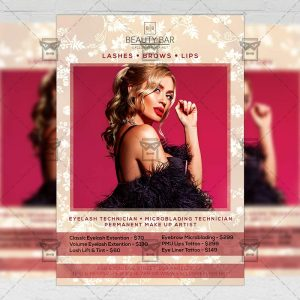 Download Exclusive Beauty Salon PSD Flyer Template Now