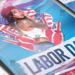 Download Labor Day Night PSD Flyer Template Now