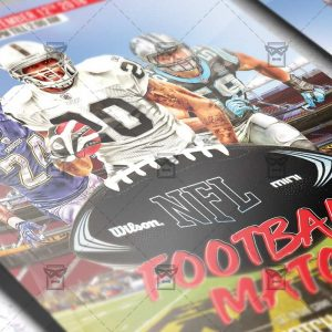 Download NFL PSD Flyer Template Now
