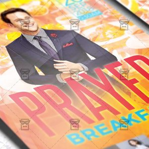 Download Prayer Breakfast PSD Flyer Template Now