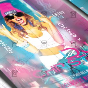 Download Guest Dj Christy PSD Flyer Template Now