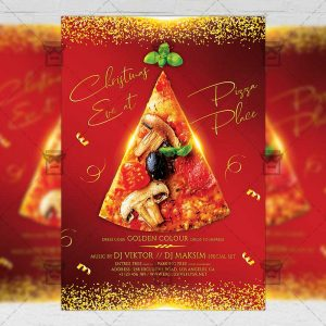 Download Christmas Eve Party PSD Flyer Template Now