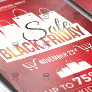 Download Black Friday 2019 PSD Flyer Template Now